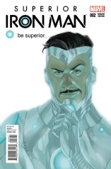 SUPERIOR IRON MAN #2 VARIANT