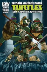TMNT NEW ANIMATED ADVENTURES #17