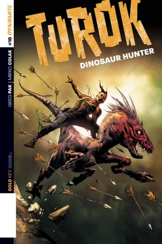 TUROK DINOSAUR HUNTER #10 SUB COVER