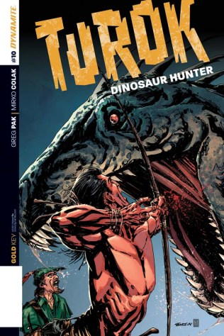 TUROK DINOSAUR HUNTER #10