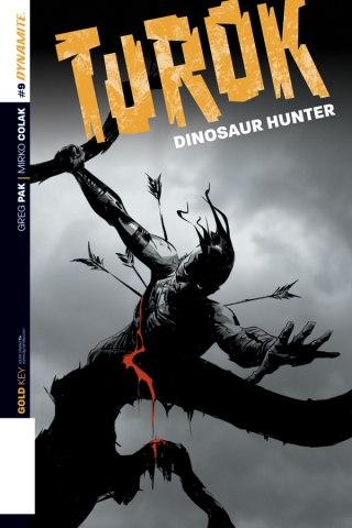TUROK DINOSAUR HUNTER #9 SUB COVER