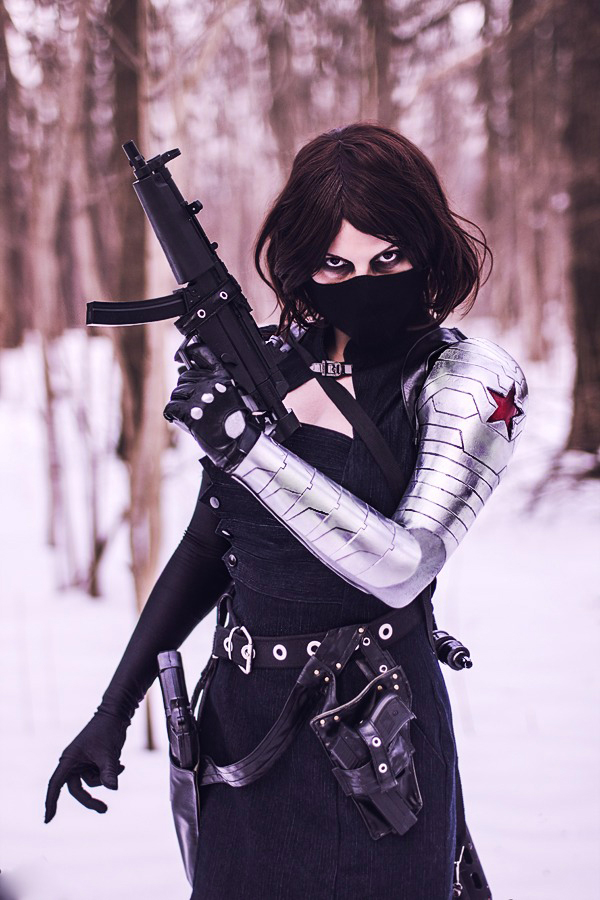 Winter Soldier Cosplay